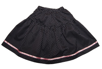Child or woman's polka-dot skirt.