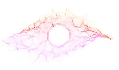 Forma di un occhio astratto