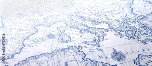Leinwandbild Motiv Mappa