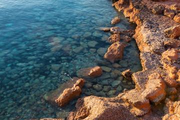 Rocks in Formentera