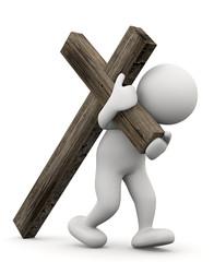 portare la propria croce