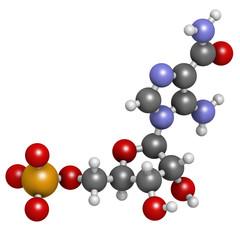 AICA ribonucleotide (AICAR) performance enhancing drug molecule.