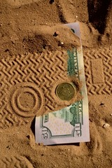 money lost in the desert