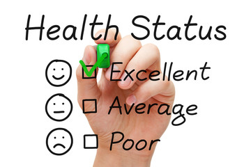 Excellent Health Status Survey