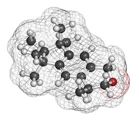 Galaxolide (HHCB) synthetic musk molecule