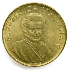 200 Lire Maria Montessori 1980 Lira Italia ماريا مونتيسوري