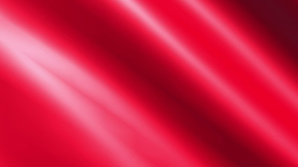 Looping animated shiny red cloth