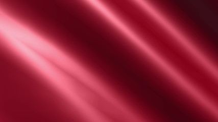 Looping animated shiny crimson cloth