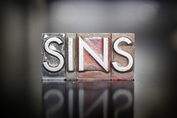 Sins Letterpress