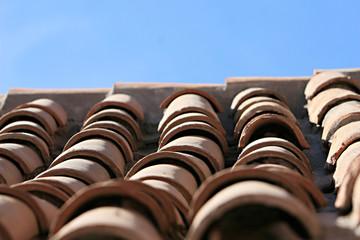 Clay Tiles - Santa Catalina Convent, Arequipa, Peru