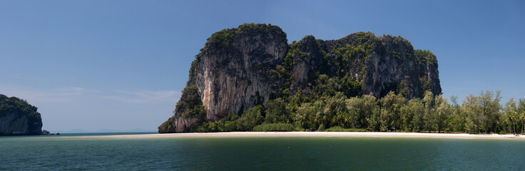 Cliffs close to Trang