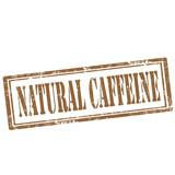 Natural Caffeine-stamp poster