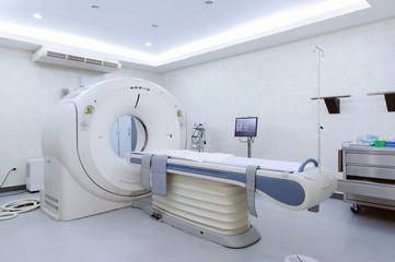 MRI scanner room