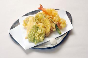 天ぷら盛り合わせ-1