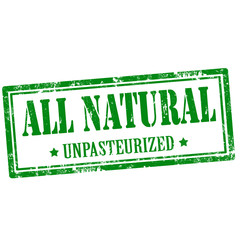 All Natural-stamp