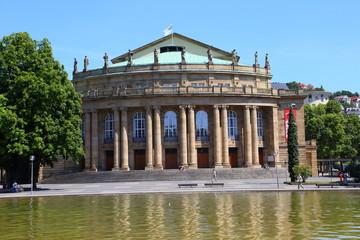 Stuttgart, Opernhaus (Sommer 2014)