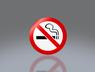 No smoking signage