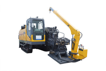 asphalt spreading machine