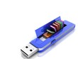 USB flash drive 3D