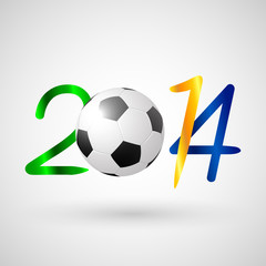soccer ball 2014 symbol