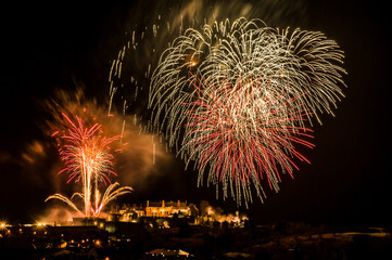 Stirling Castle Fireworks