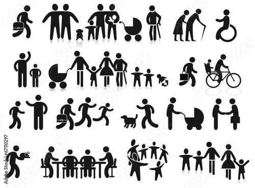 Familien und Generationen - 67110297