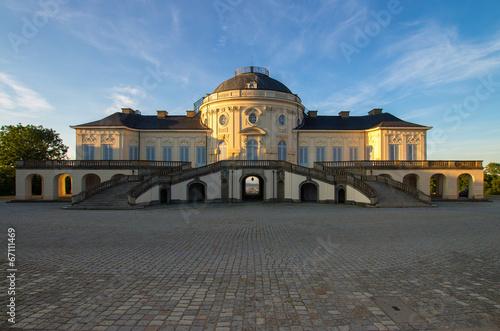 Schloss Solitude Stuttgart Panorama