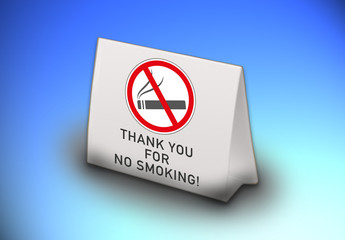 thank you for no smoking