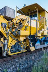 Universalstopfmaschine Gleisbau