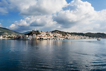 Poros Island panorama, Greece