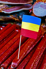 Romanian sausages