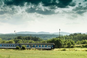 Landscape Train Photo