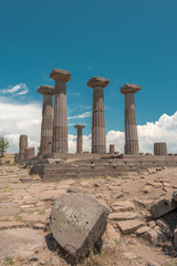 The ancient ruins of Assos
