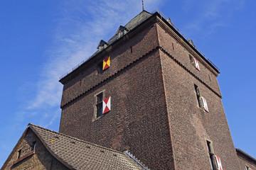 Historischer Schelmenturm in MONHEIM (bei Düsseldorf)