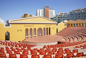 Amphitheater in Calpe. Spain