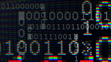 01 digital data sequence