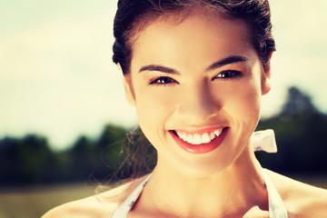 Teen girl outdoor