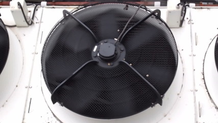 HVAC heating ventilation and air conditioning unit
