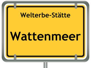 Welterbe-Stätte Wattenmeer.