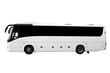 Leinwanddruck Bild - The modern bus