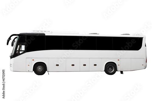 Leinwanddruck Bild The modern bus
