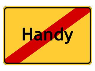 Handy verboten