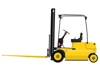 Forklift with extensions