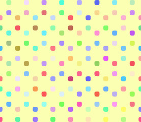 Warp square colorful seamless pattern.