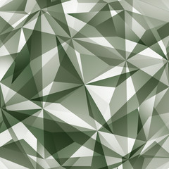 Abstract vector geometric 3D background, complicated science neu