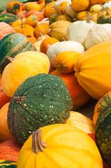 Kürbissorten, Herbst, Gemüse, Bauernmarkt