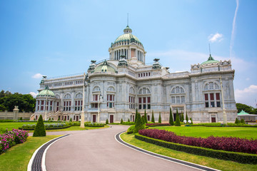 The Ananta Samakhom Throne Hall in Thai Royal Dusit Palace, Bang