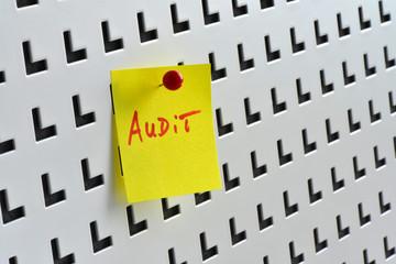 Audit, Revision, Qualität, Pinwand, Notiz, Projekt, Termin