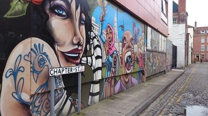 Graffiti in the alley