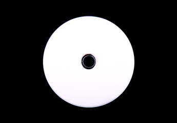 blank cd isolated